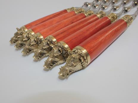 Подарочные шампура кабаны