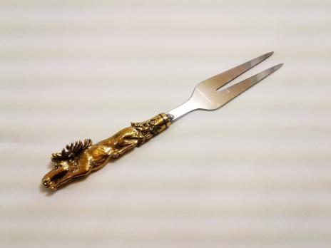 "Вилка для снятия мяса ""Лось"" литье"