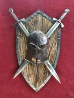 Кованый щит маска (Дуалы)
